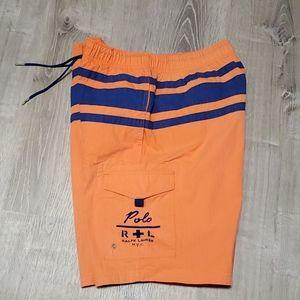 Ralph Lauren swim trunk shorts men size L